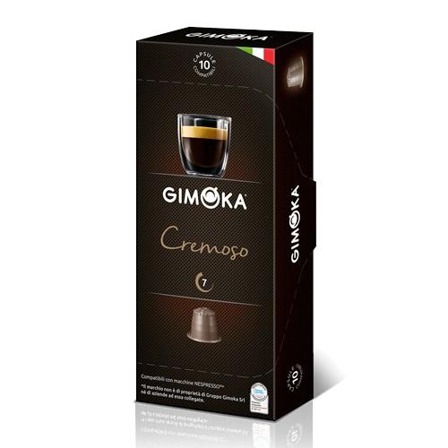 Gimoka Cremoso Nespresso Caps. 10pcs