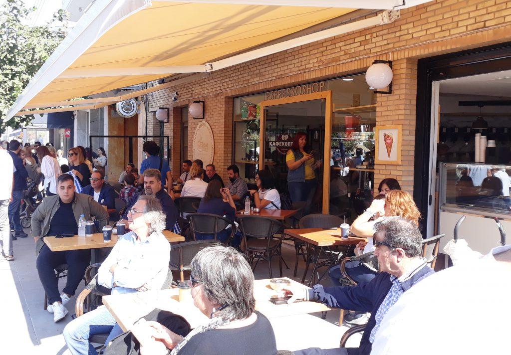 Κατάστημα espressoshop Δημοκρατίας Ηράκλειο