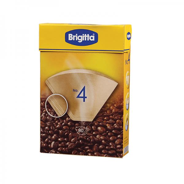 Χάρτινα Φίλτρα Καφέ Φίλτρου Briggita Μέγεθος 04