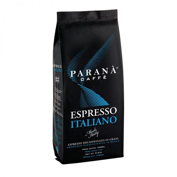 Caffe Parana Espresso Italiano Decaf