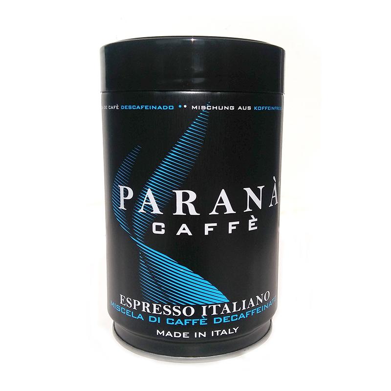 Caffe-parana-decaf-tin-250grs