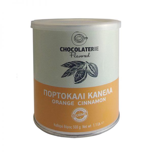 Σοκολάτα Ρόφημα Πορτοκάλι Κανέλα