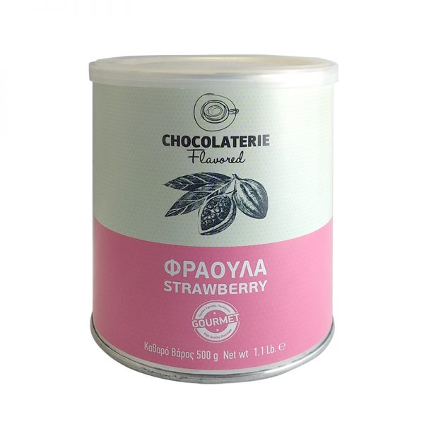 Σοκολάτα Ρόφημα Φράουλα