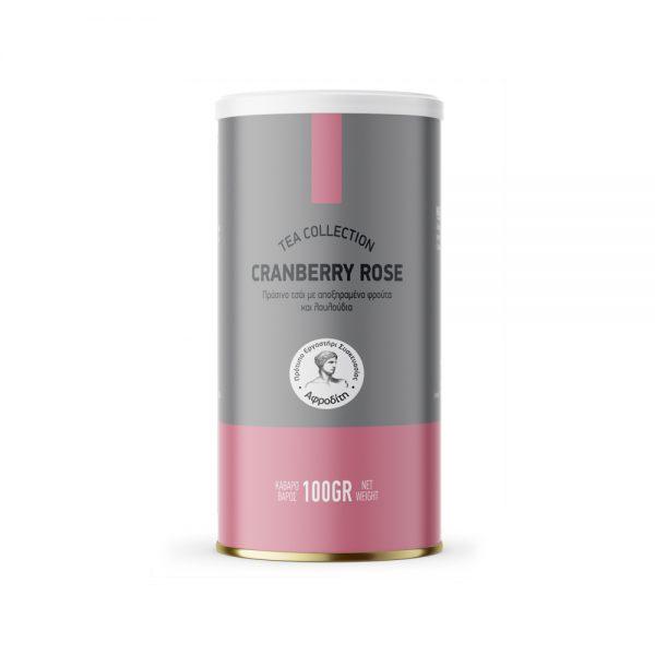 Τσάι με γεύση Cranberry Rose
