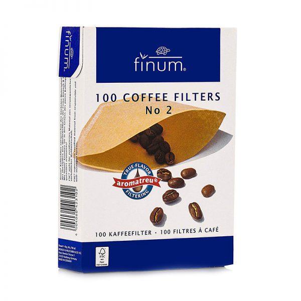 Χάρτινα Φίλτρα Καφέ Φίλτρου Finum No2