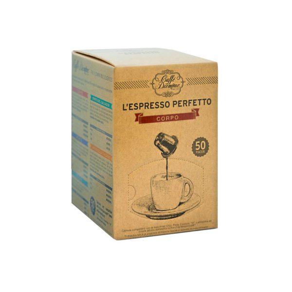 Συμβατές Αμπούλες Nespresso Diemme Espresso Corpo