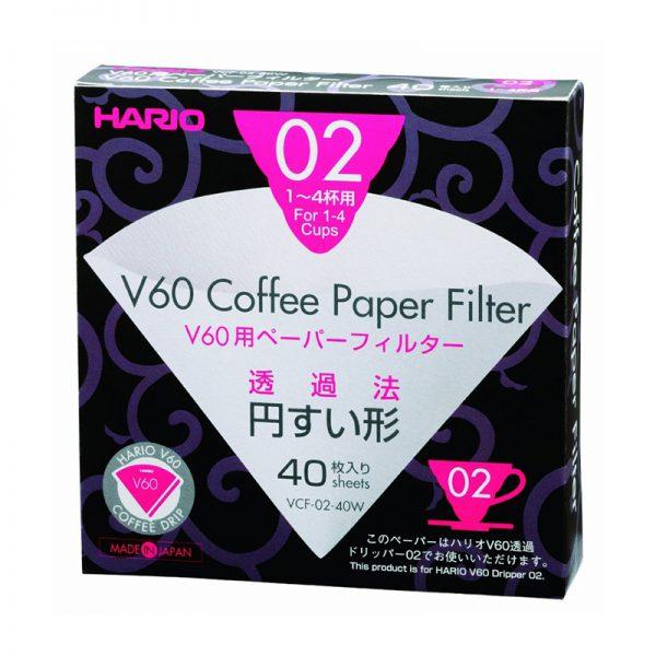 Χάρτινα Φίλτρα Καφέ Φίλτρου Hario V60