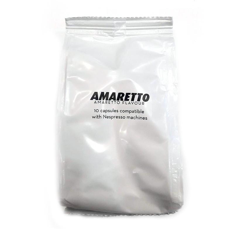Εσπρέσο γεύση Αμαρέττο Nespresso Συμβατές Αμπούλες