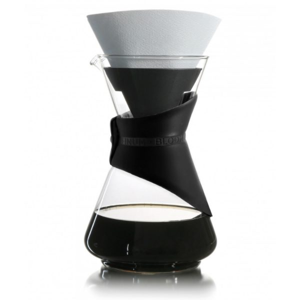 Finum Pour-Over Coffee Brewer Black