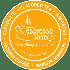 Λογότυπο Espressoshop Τα πάντα για τον καφέ
