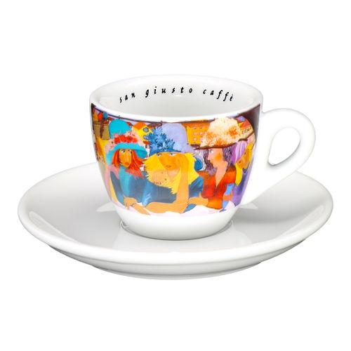 Φλυτζάνι Espresso SanGiusto -Πολύχρωμο- 75ml