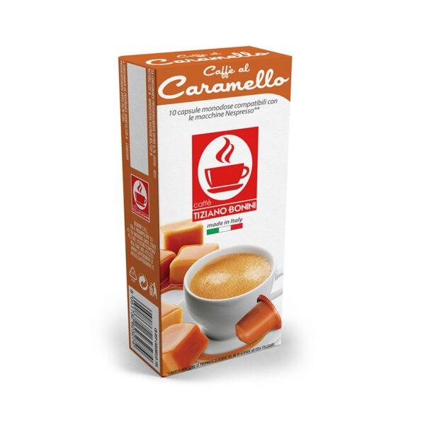 Tiziano Bonini Caramello Συμβατές Αμπούλες Nespresso(10τμχ)