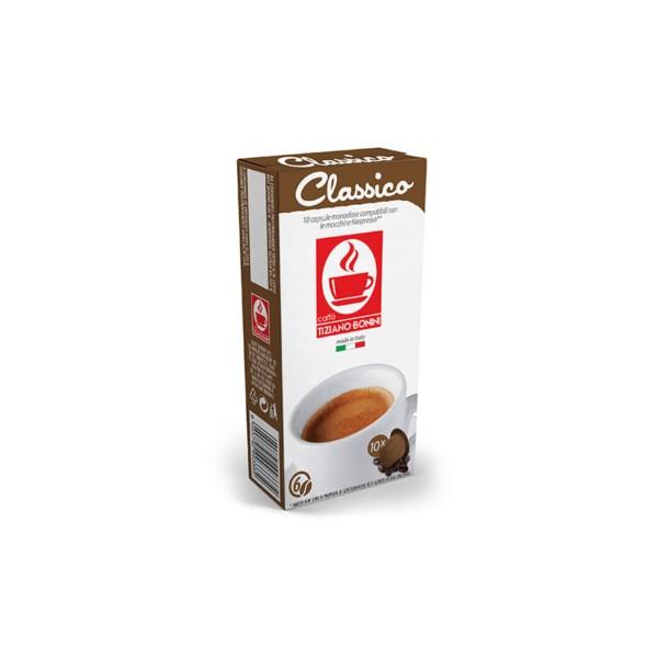 Tiziano Bonini Classico Συμβατές Κάψουλες Nespresso(10τμχ)