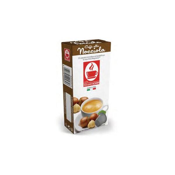 Tiziano Bonini Nocciola Συμβατές Αμπούλες Nespresso(10τμχ)
