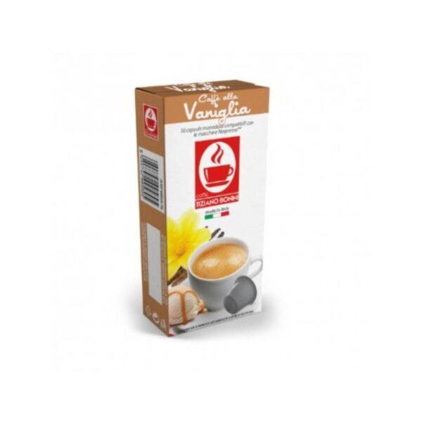 Tiziano Bonini Vaniglia Συμβατές Αμπούλες Nespresso(10τμχ)