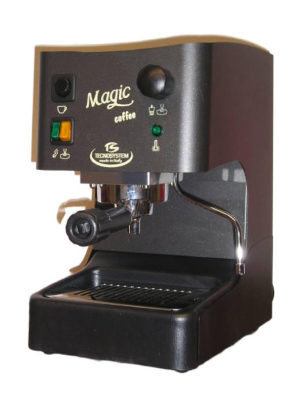 Tecnosystem Magic 108 Boiler Μηχανή Χάρτινης Αμπούλας - Αλεσμένου Καφέ