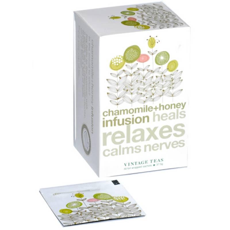 Vintage Αφέψημα Χαμομήλι Chamomile n' Honey 30 Φακελάκια