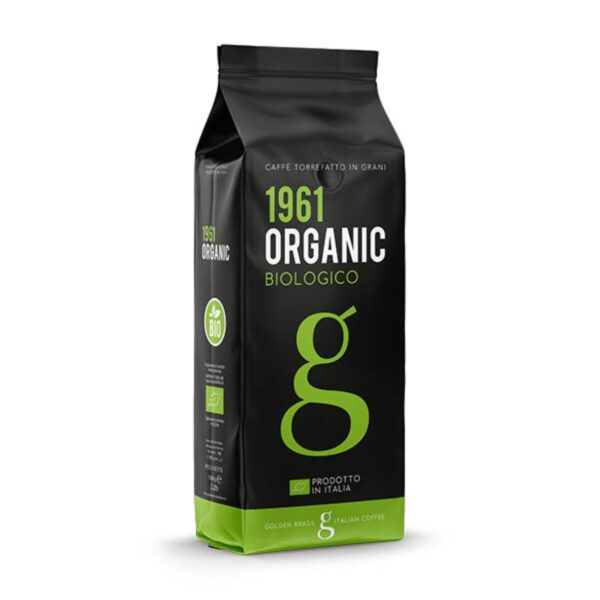 Golden Brasil Espresso 1961 Organic Biologico Beans 1kg