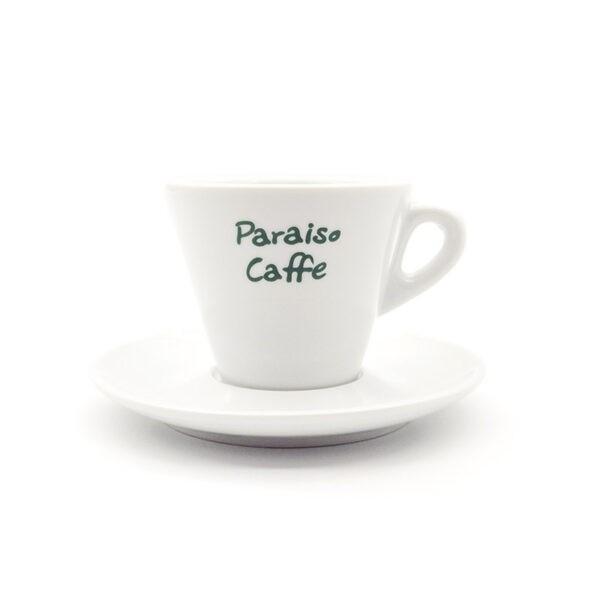 Φλυτζάνι Espresso Paraiso Barista Πορσελάνης Λευκό 60ml
