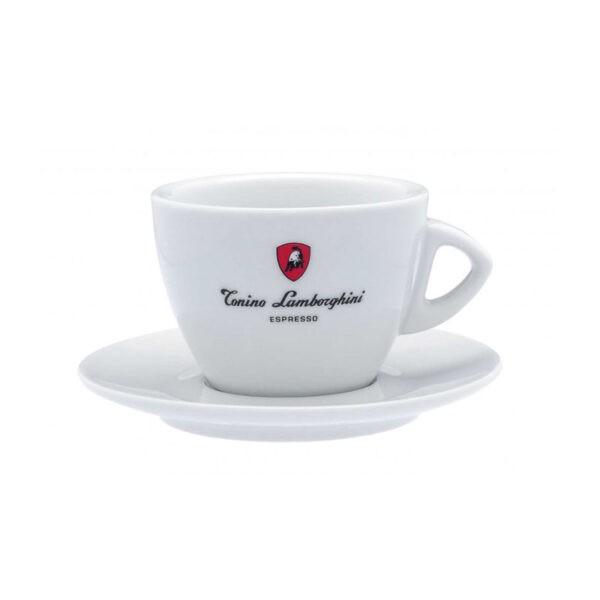 Φλυτζάνι Double Cappuccino/Latte Tonino Lamborghini Λευκό