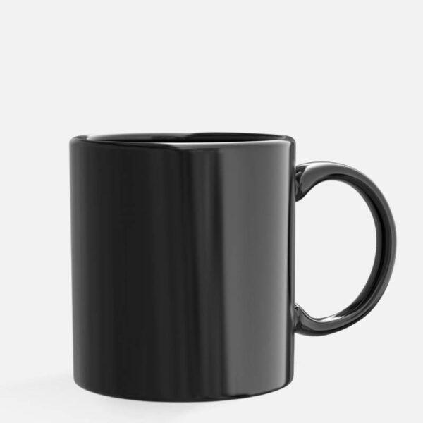 Κούπα Κεραμική Μαύρη 370ml