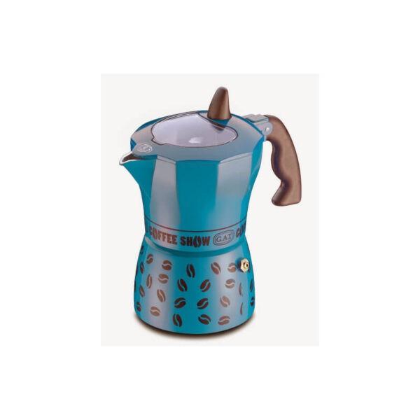 GAT Coffee Show Moka Pot 1 Cup Petrol Blue