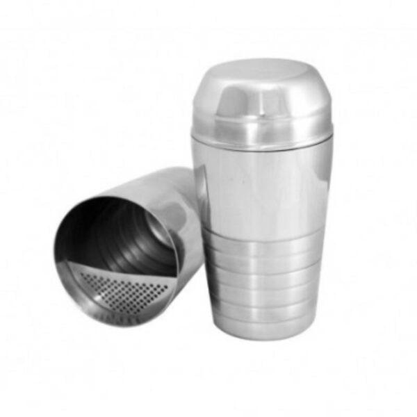 Κύπελλο Inox με Αφροσυλλέκτη και Καπάκι 600ml